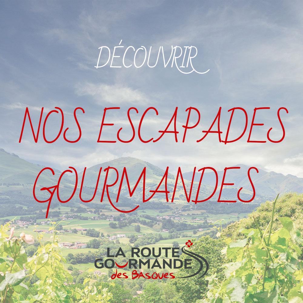 escapades gourmandes la route gourmandes des basques
